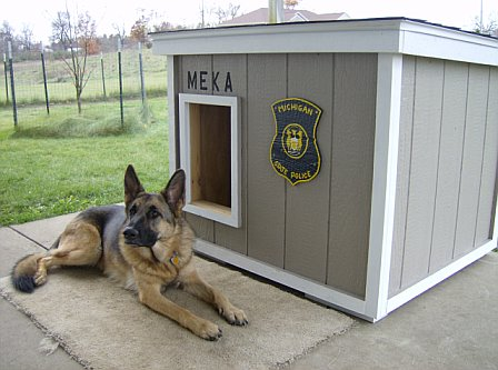 House Designs on Dog House Plans   Police Dog House Plans